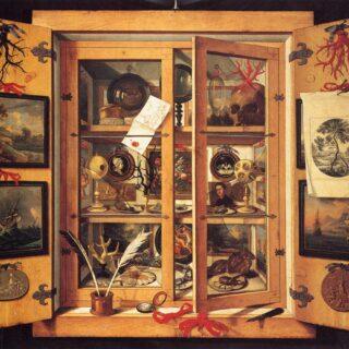 Cabinet de curiosités, Domenico Remps, 1690.